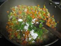 carrot beans poriyal 4