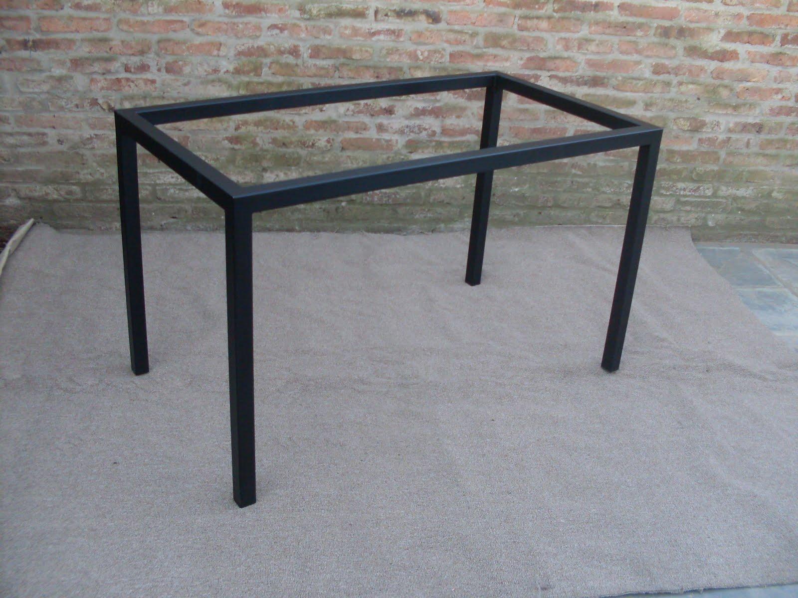 Herreria mesas de hierro for Patas de hierro para mesas