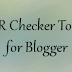 Google PR Checker tool for Blogger