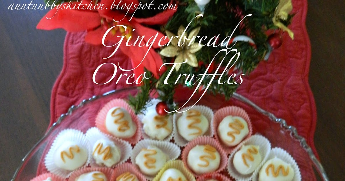 Sugar Spice And Spilled Milk Gingerbread Oreo Truffles