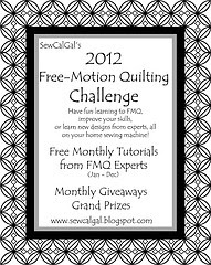 2012 Free Motion Quilting Challenge