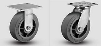 rigid casters, swivel casters, xs wheels albion