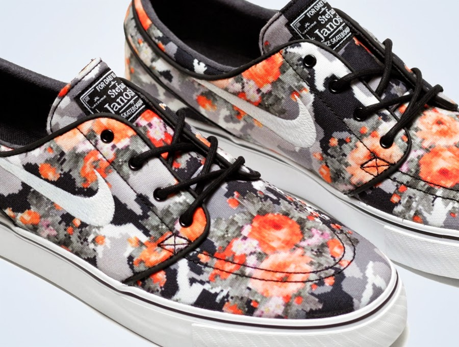 331abe5ada7 Where To Buy Nike SB Janoski Mandarin Florals QS