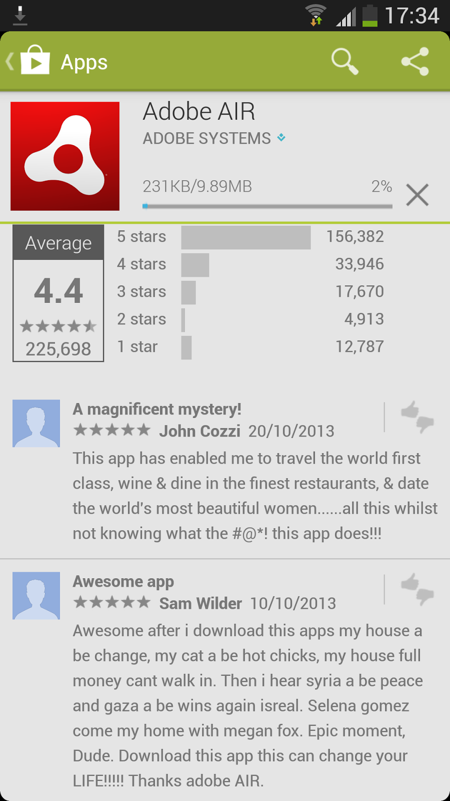 adobe air app review