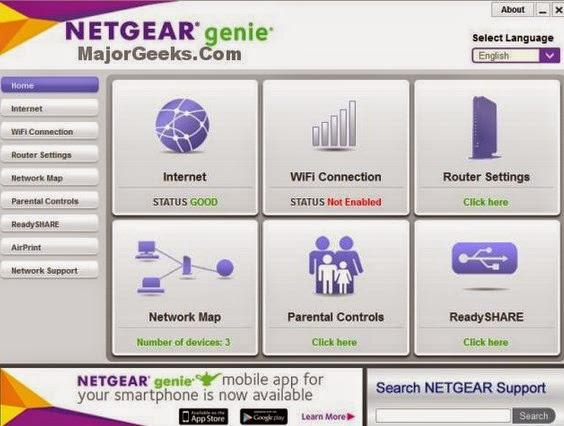 NetGear Genie 2.3.1.25 Free Download