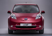 Nissan Leaf (2013 European Spec) Front