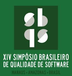 SBQS 2015 - Manaus - 17 a 21 de Agosto de 2015