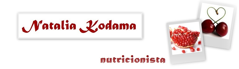 Natalia Kodama - nutricionista