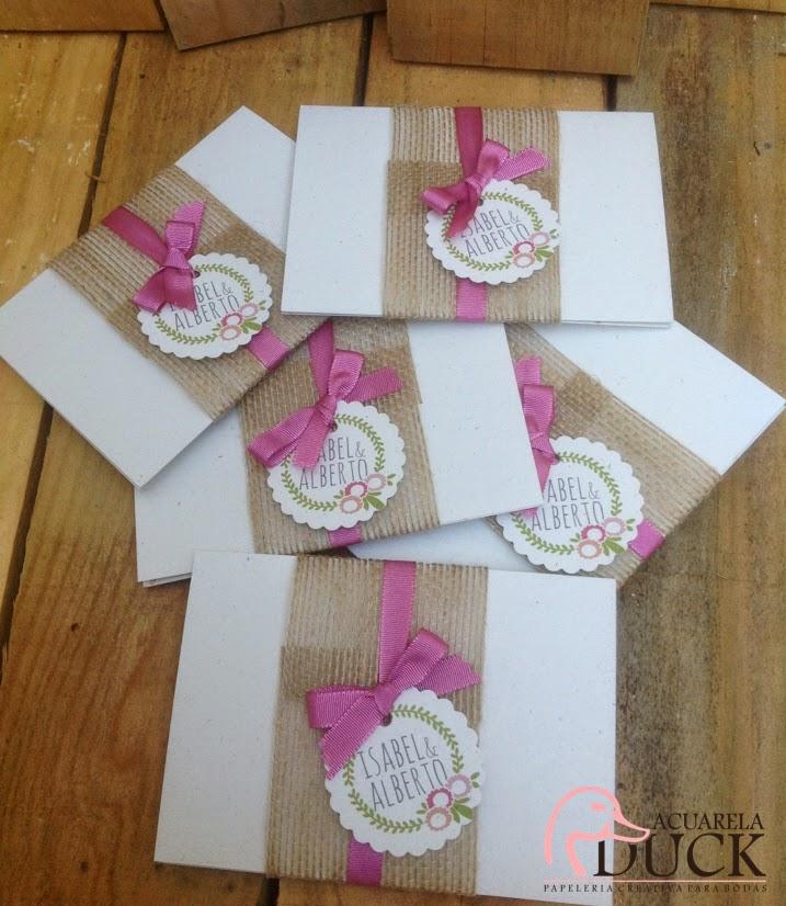 invitaciones flores rosas
