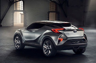 Wow...!!! Tampang Keren Sang Mentereng Crossover Toyota C-HR