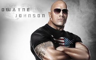 Dwayne Johnson The Rock by macemewallpaper.blogspot.com