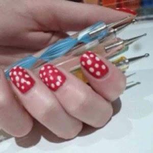 Harga Nail Art Dotting Tools Murah Sederhana Alat Penghias Kuku Wanita