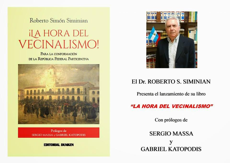 """Presentación del Libro """"La Hora del Vecinalismo"""""""