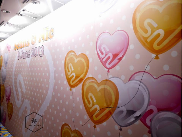 wedding backdrop design by Lily Sarah at Harbour Grand Kowloon