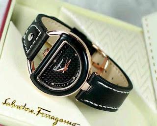 jam tangan cewek murah kw hitam