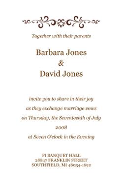 indian wedding invitation template shaadi