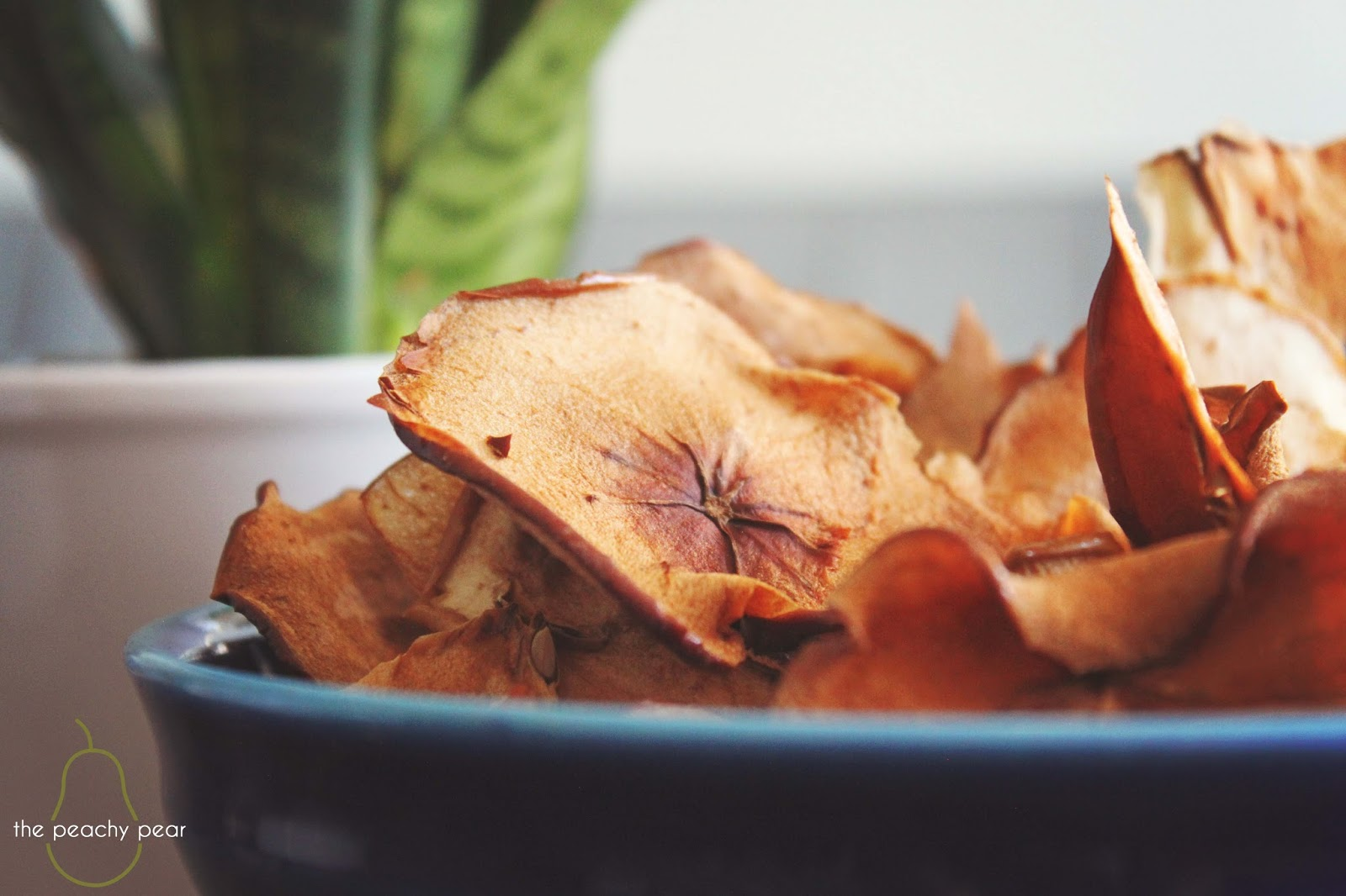 the peachy pear: Oven baked apple chips