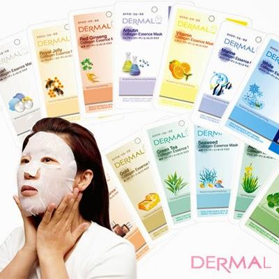 Листовые маски Dermal