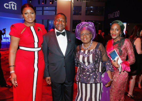 Ngozi Iweala and Dangote on Time 100 most influential people in the world