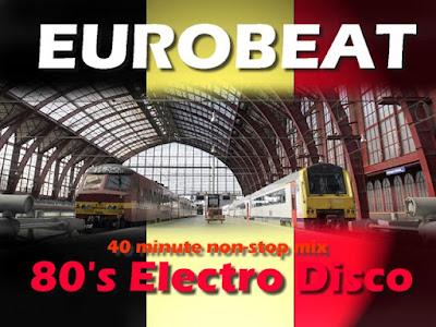 EUROBEAT MIX 80's - Vol.1 Various Artists (40 mins Non-stop dance mix) electro disco