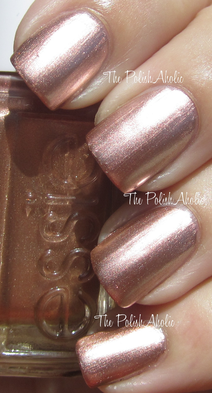 The Polishaholic Essie Mirror Metallics Collection Swatches
