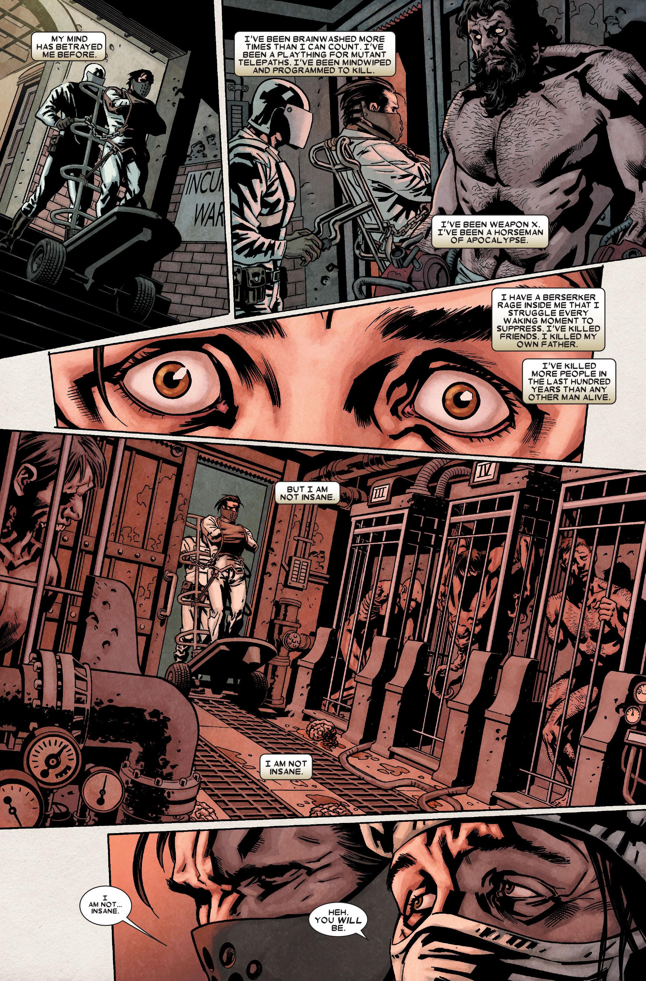 Wolverine: Weapon X #8 #9 - English 14