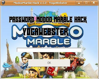 Masukan Password Modoo Marble Hack v.1.0 : yogawebster