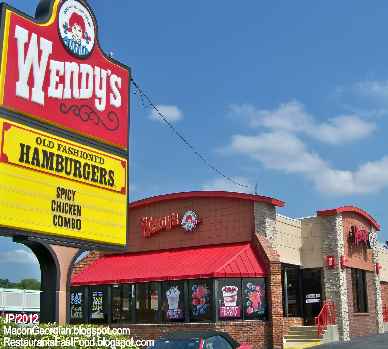 fast food and wendy Wendy's introduced its black bean burger after customers started asking for a  meatless option the fast-food chain tested out the burger in.