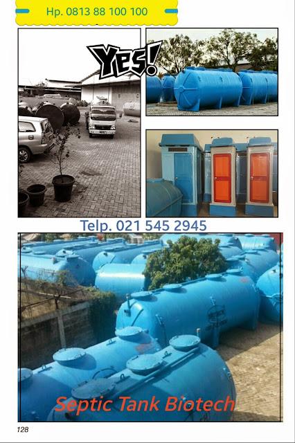 septic tank biotech modern dan ramah lingkungan