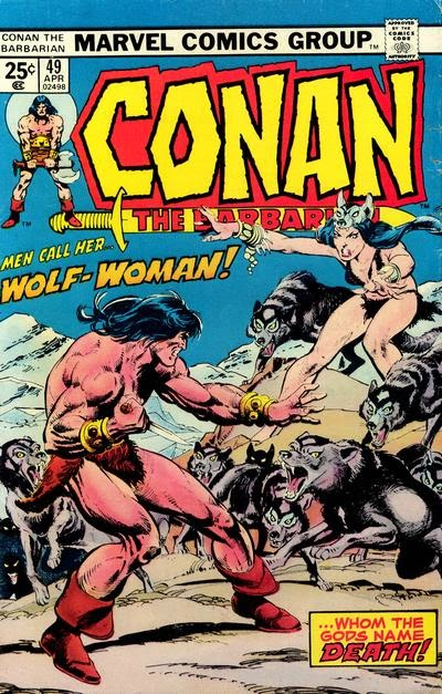 Conan #49, Wolf-Woman