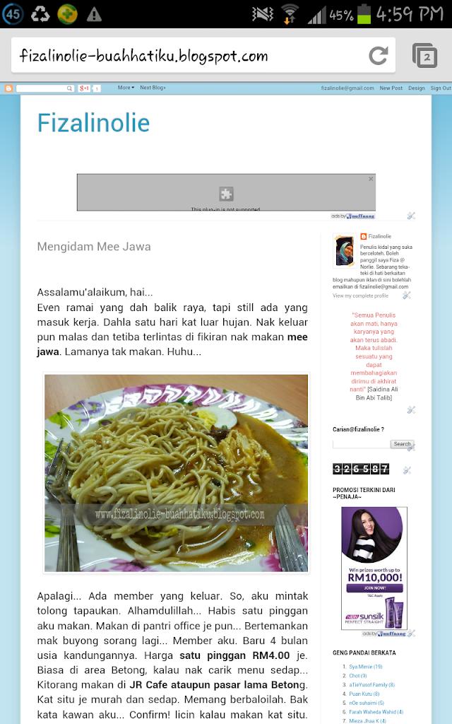 Mood Nak Design Blog Sendiri