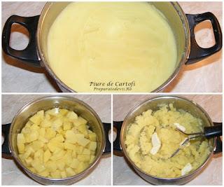 piure, garnituri, retete culinare, cum facem cel mai bun piure decartofi, retete cu cartofi, preparate din cartofi, cartofi fierti is pasati cu unt si lapte, retete de mancare, retete pentru bebelusi,
