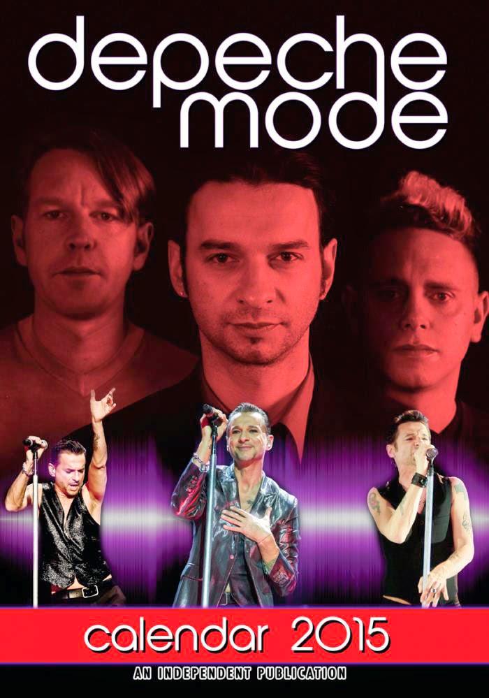 Calendario Depeche Mode 2015