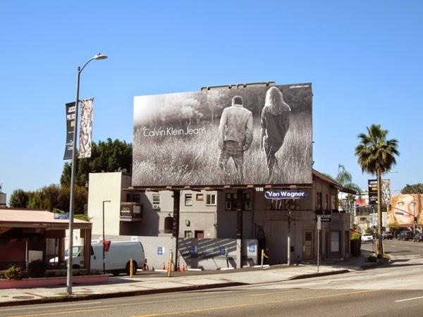 Calvin Klein Jeans S14 billboard