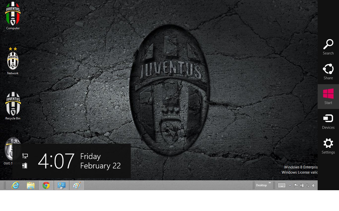 Juventus windows 7 and 8 theme ouo themes - Foto wallpaper ...