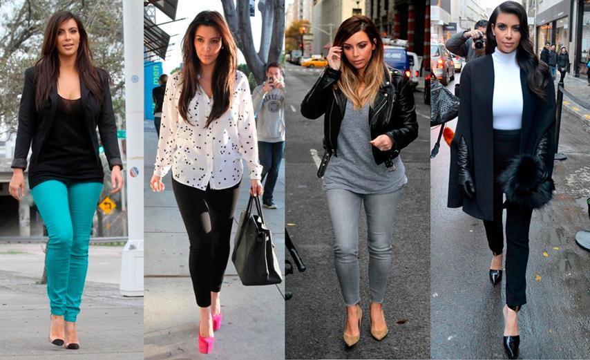 Estilo, look, famosas, Kim Kardashian