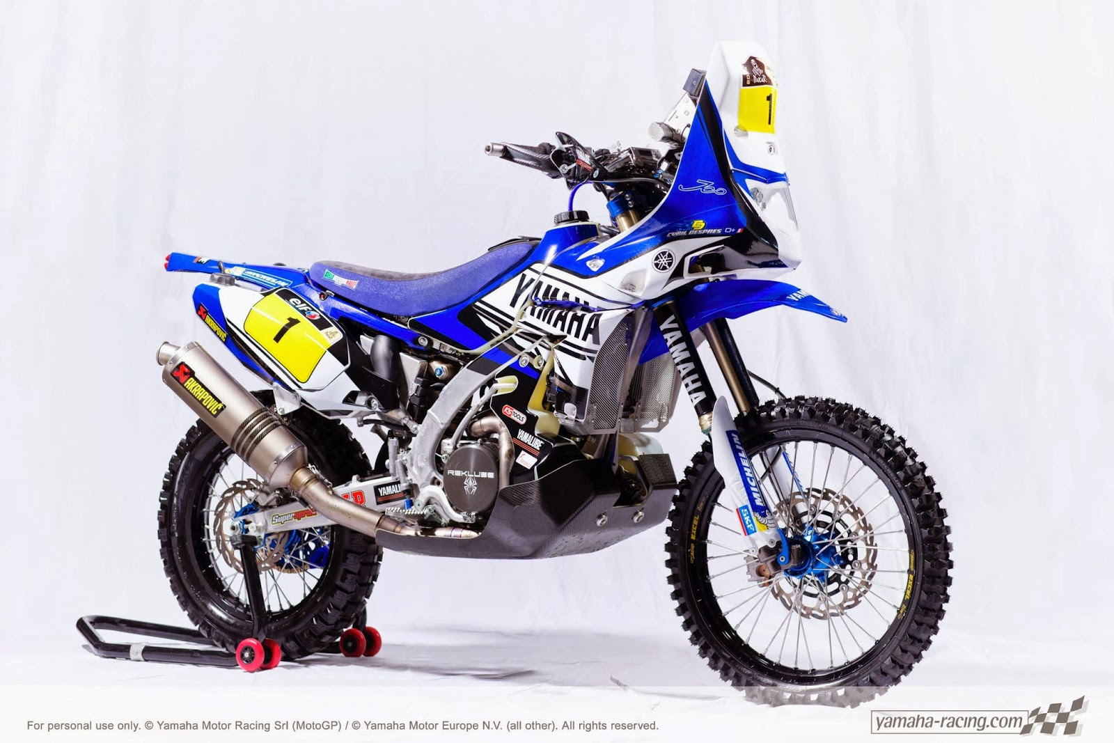 Racing caf yamaha yz 450f rally c despres dakar 2014 for Garage yamaha paris