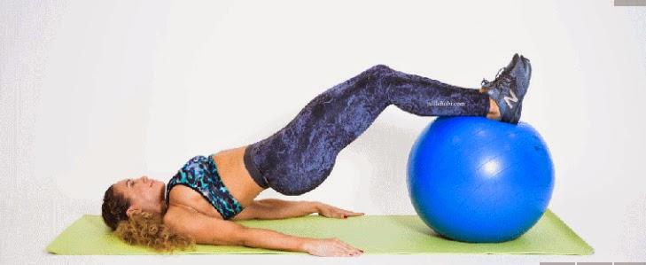 Tüm Vücudu Sıkılaştıran Pilates Hareketi