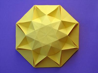 origami Sole infinito 3 - Infinity Sun 3 by Francesco Guarnieri