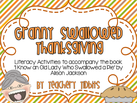 http://www.teacherspayteachers.com/Product/Granny-Swallowed-Thanksgiving-966636