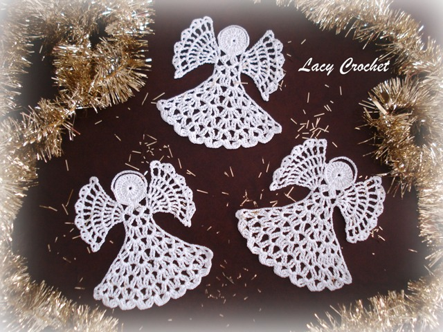 Easy Free Crochet Angel Pattern : Lacy Crochet: November 2011