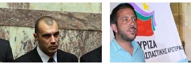 """Ο βουλευτής της Χ.Α Π.Ηλιόπουλος απάντησε στον βουλευτή του ΣΥΡΙΖΑ Αλ.Μεϊκόπουλο...""""Αν συμπαθεί τόσο πολύ τους λαθρομετανάστες ας τους πάρει σπίτι του""""!!!!"""