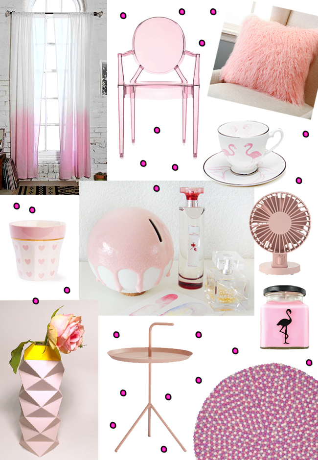 lovely home living in pastel pink - Pink Home 2015