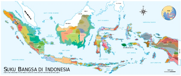 Memiliki ribuan pulau dan suku bangsa, Indonesia adalah negara