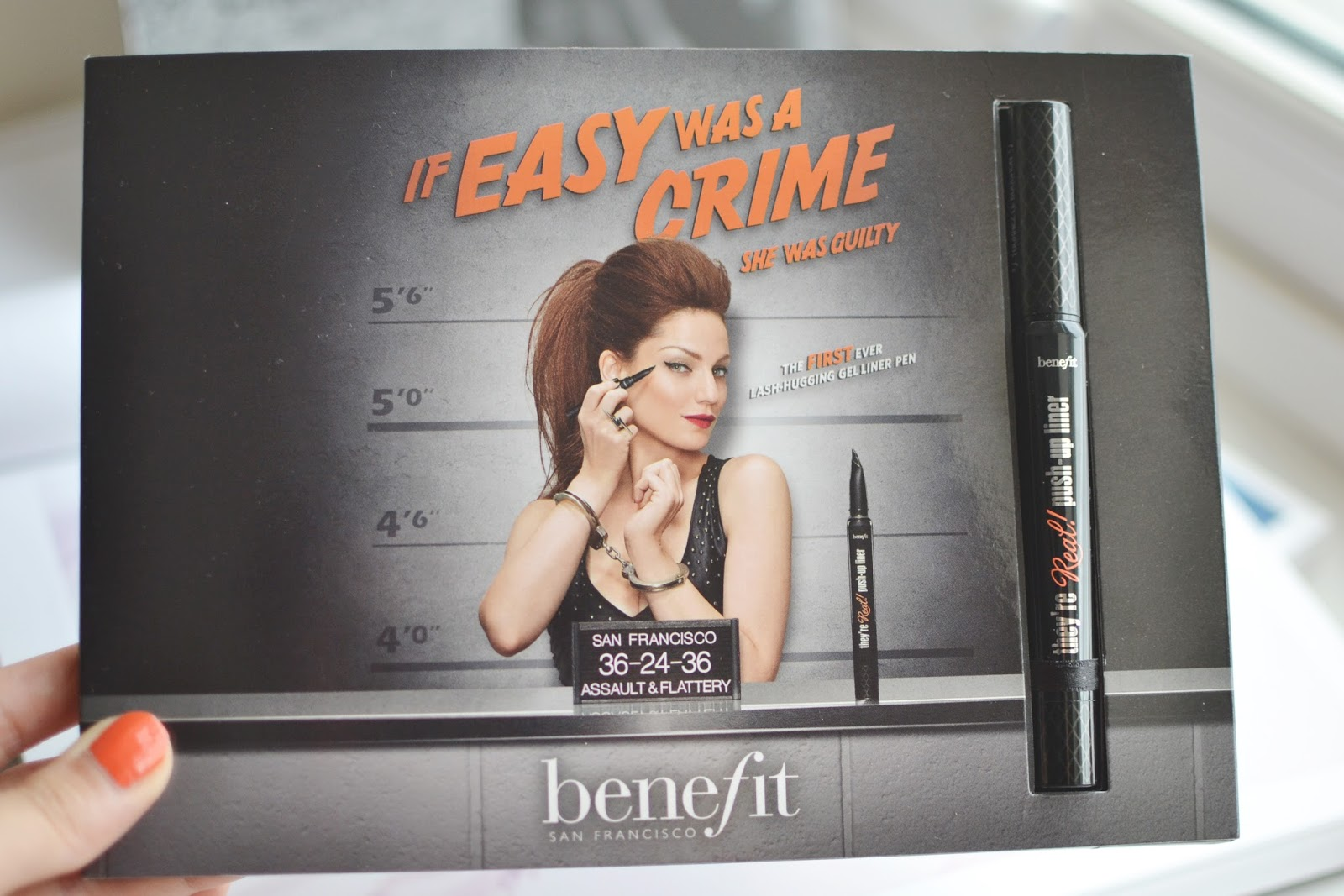 Benefit They're Real Push Up Liner review