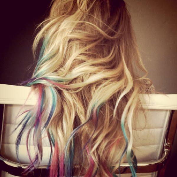 Bon Lemon I Want That Tie Dyed Hair