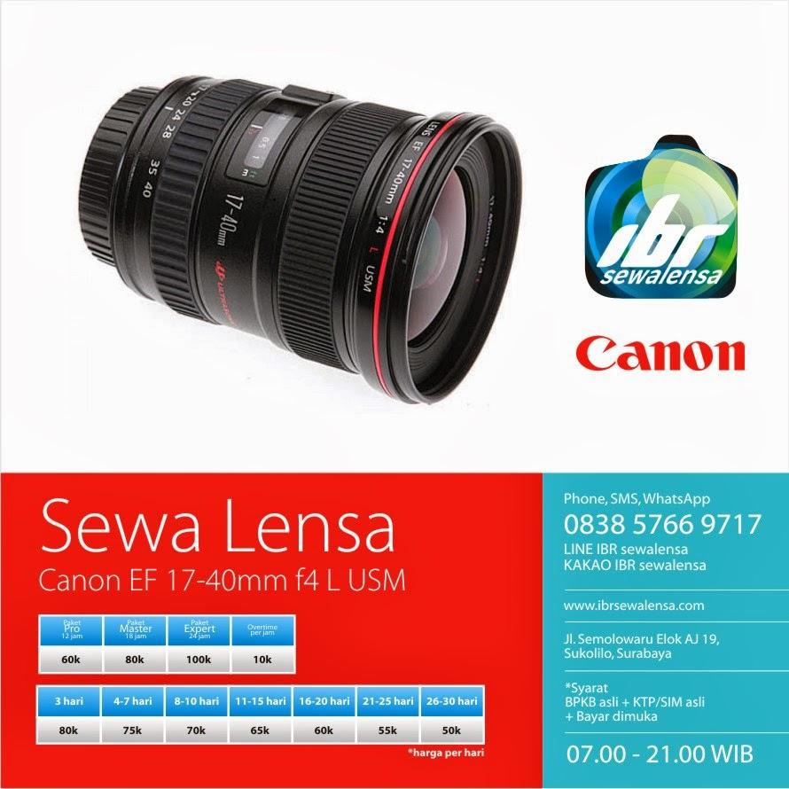 Canon 17-40 mm F 4 L USM