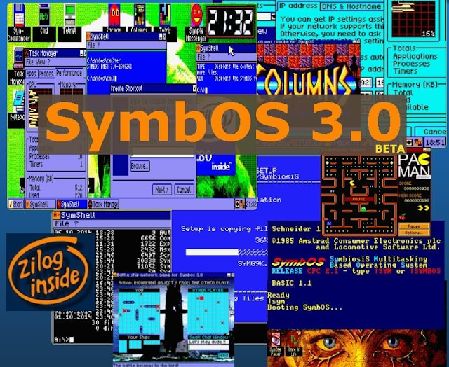 """""""¿Dónde quieres ir hoy?"""" Disponible la nueva versión Beta de SymbOS"""