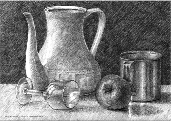 Pinterest Still Life Drawing Source Janice Foo
