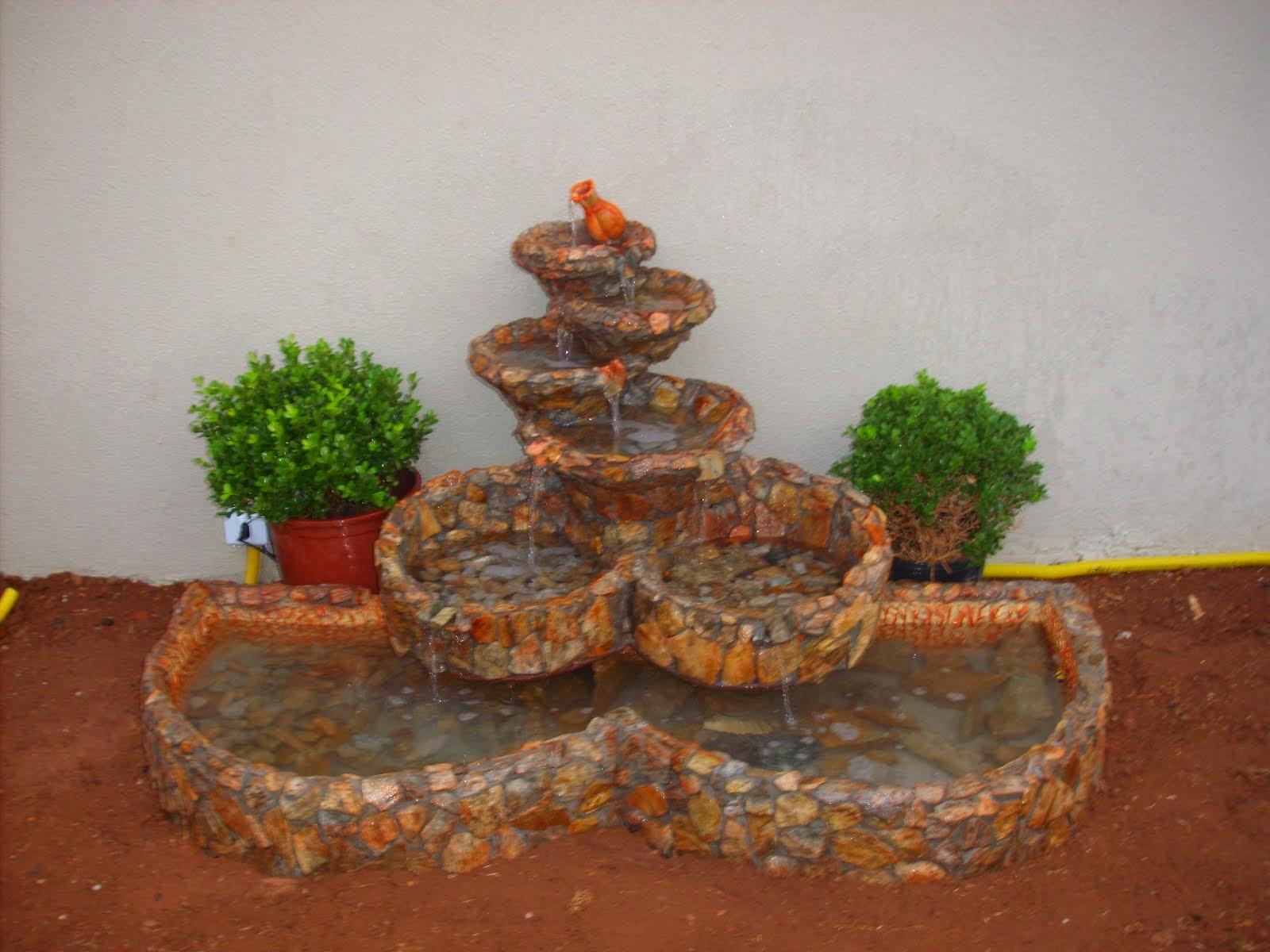20.....ref : 0120  cascata modelo equilibrio horizontal com 2 bacias e lago